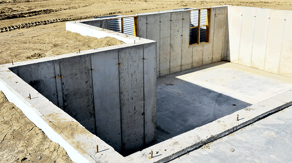 Select basements ltd basement construction cheshire for Building a basement foundation